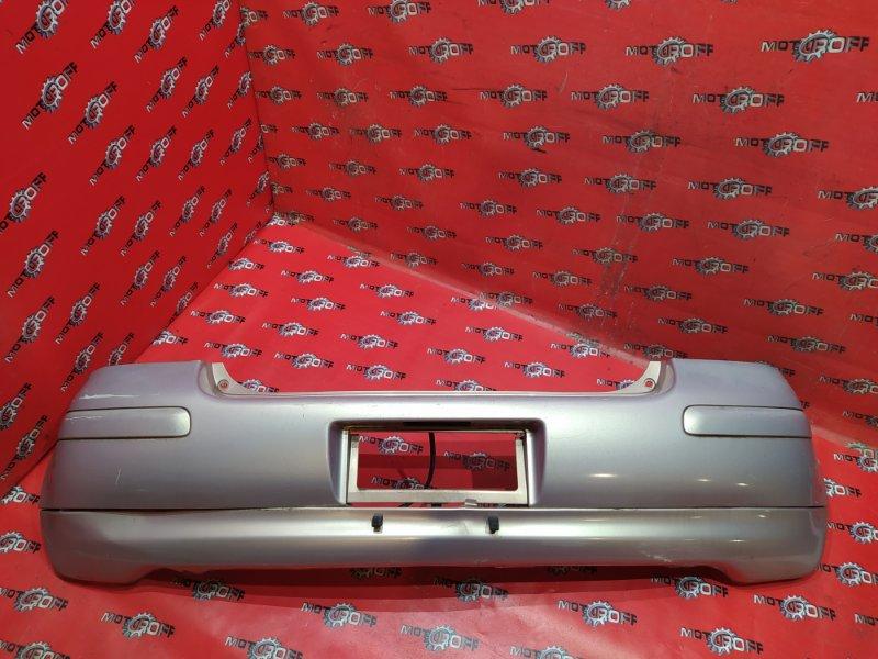 Бампер Toyota Vitz SCP10 1SZ-FE 2001 задний (б/у)