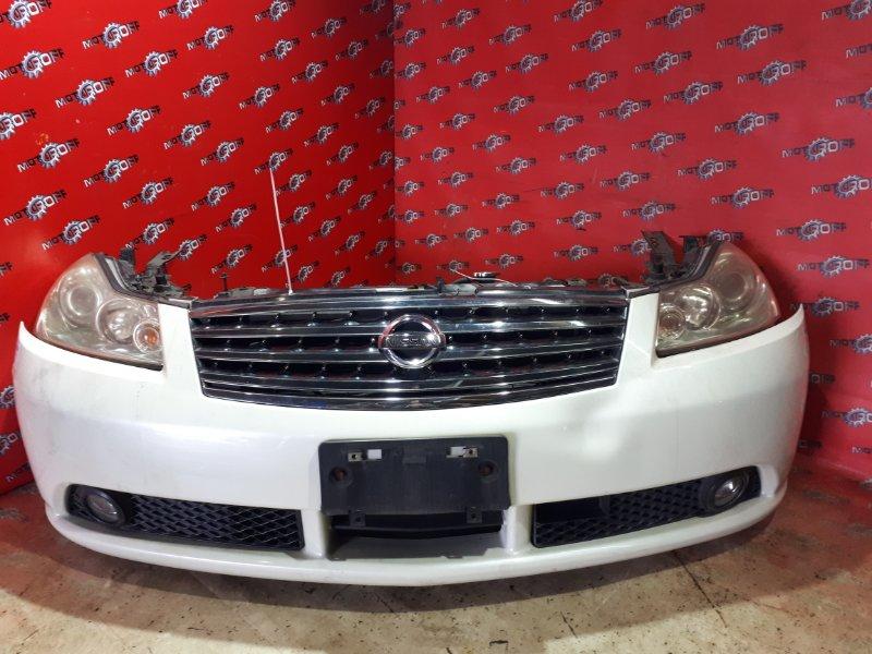 Nose cut Nissan Fuga PY50 VQ35DE 2004 (б/у)
