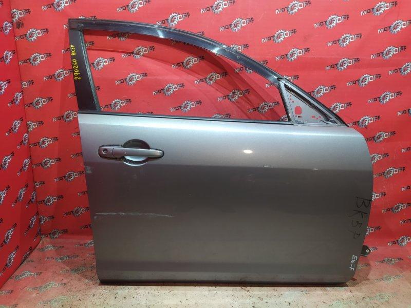 Дверь боковая Mazda Axela BK5P ZY-VE 2003 передняя правая (б/у)