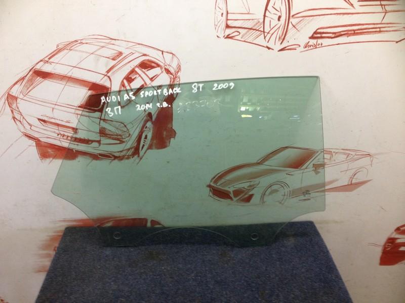 Стекло двери задней правой Audi A5 (2007-2017)