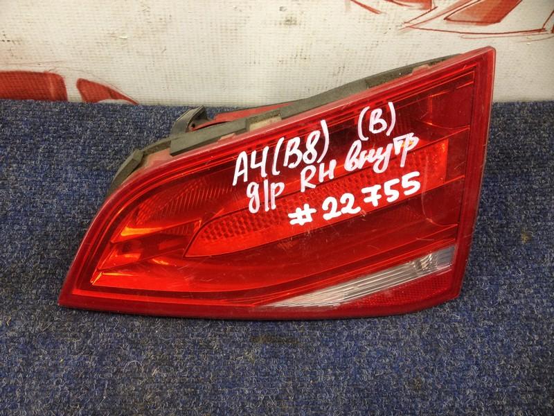 Фонарь правый - вставка в дверь / крышку багажника Audi A4 (B8) 2008-2015