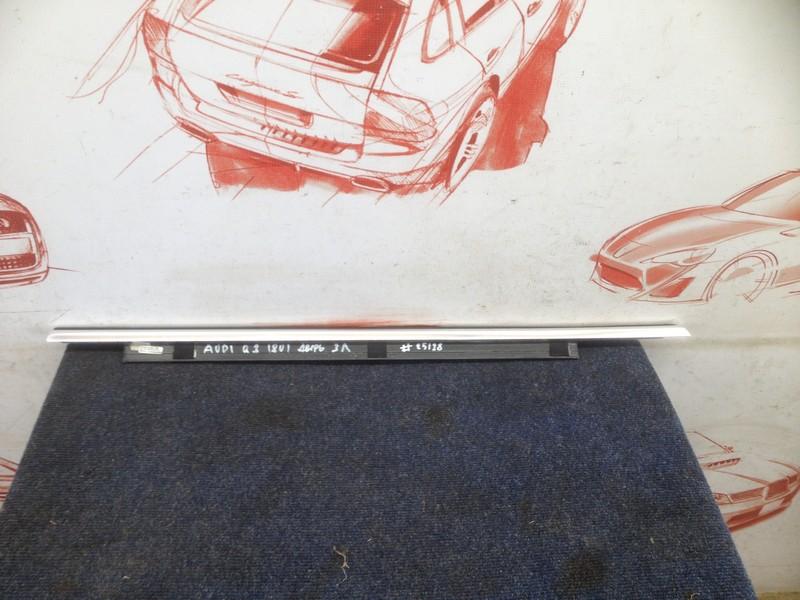 Молдинг-уплотнитель стекла двери (бархотка) Audi Q3 (2011-2019) задний левый