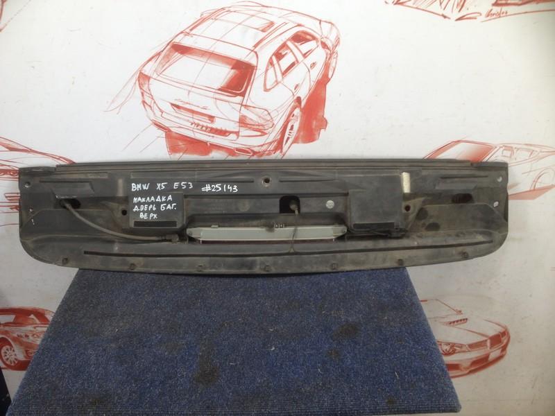 Спойлер-антикрыло двери/крышки багажника Bmw X5-Series (E53) 1999-2006
