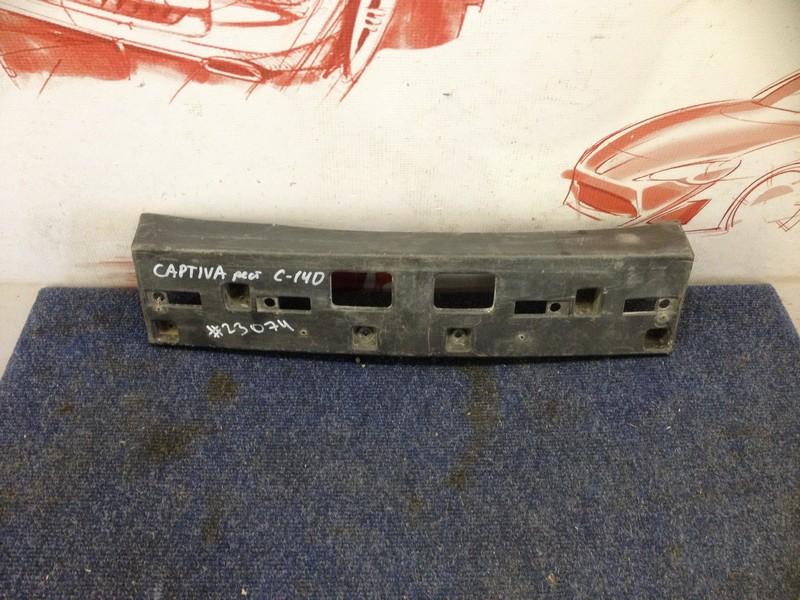 Планка (рамка) номерного знака Chevrolet Captiva 2011
