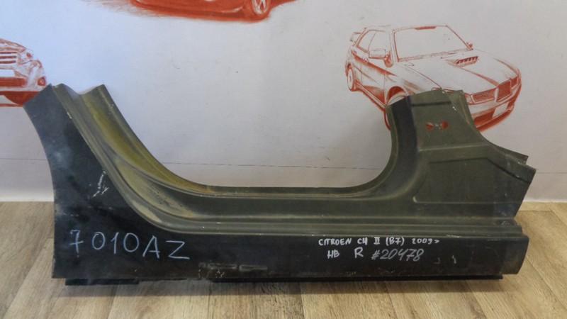 Кузов - порог (обрезок) Citroen Ds-4 задний правый