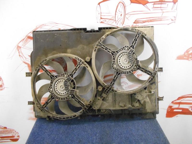 Диффузор радиатора охлаждения - в сборе Citroen Jumper 2006-Н.в.
