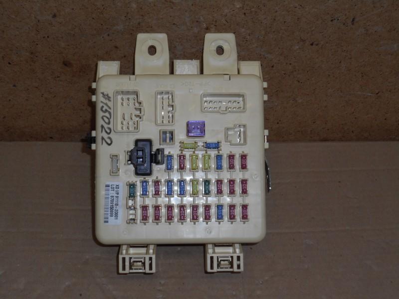 Электрика - блок предохранителей Hyundai Elantra (2000-2006) Тагаз До 2008. верхняя