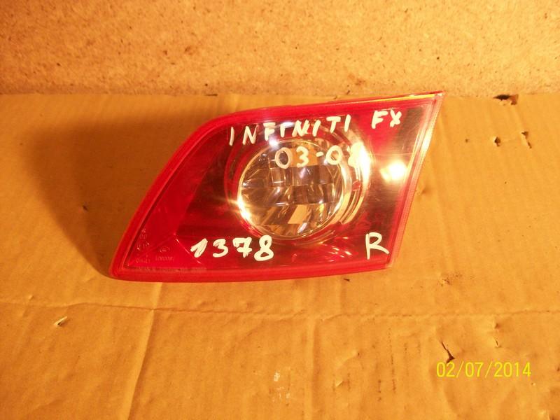 Фонарь правый - вставка в дверь / крышку багажника Infiniti Fx-Series ( S50 ) 2003-2008