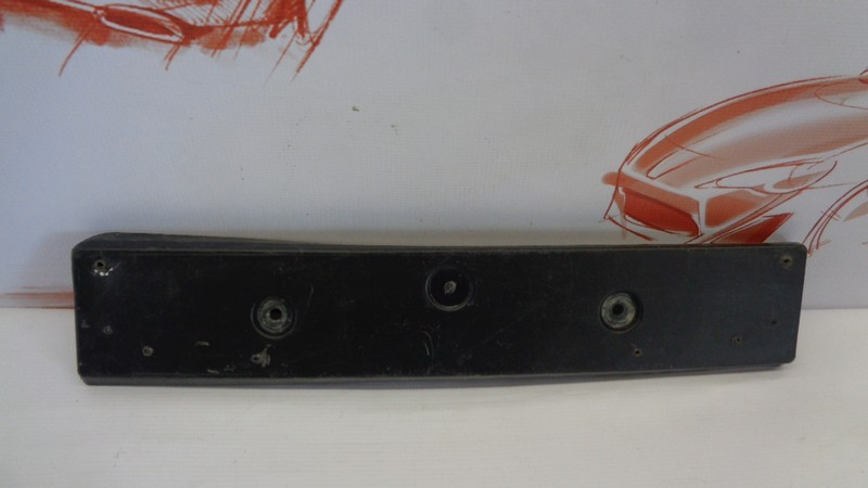 Планка (рамка) номерного знака Infiniti Fx-Series / Qx70 (S51) 2008-2019 передняя