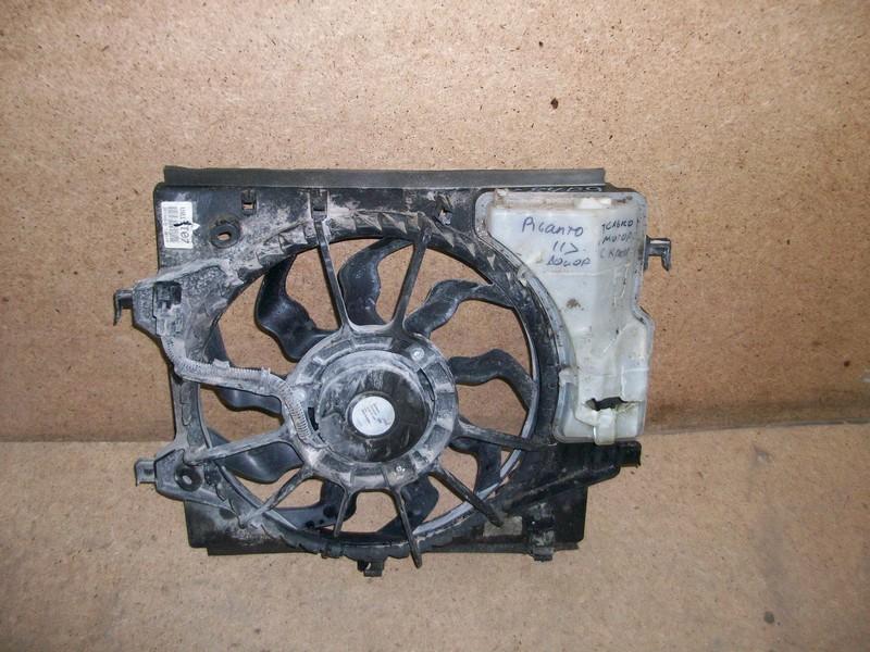 Диффузор радиатора охлаждения - в сборе Kia Picanto (2011-2017)