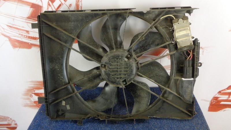 Диффузор радиатора охлаждения - в сборе Mercedes C-Klasse (W204) 2007-2015