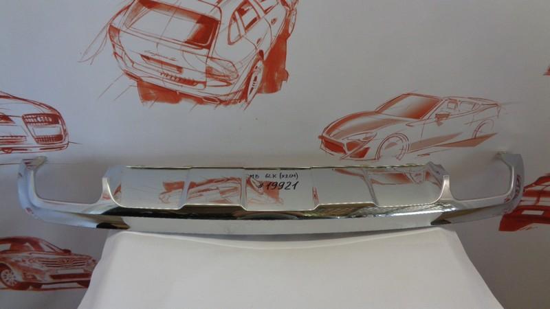 Спойлер (накладка) бампера заднего Mercedes Glk-Klasse (X204) 2008-2015