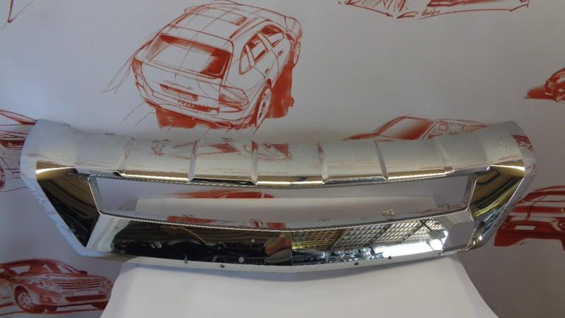 Спойлер (юбка) бампера переднего Mercedes M (Ml)-Klasse (W166) 2011-2015