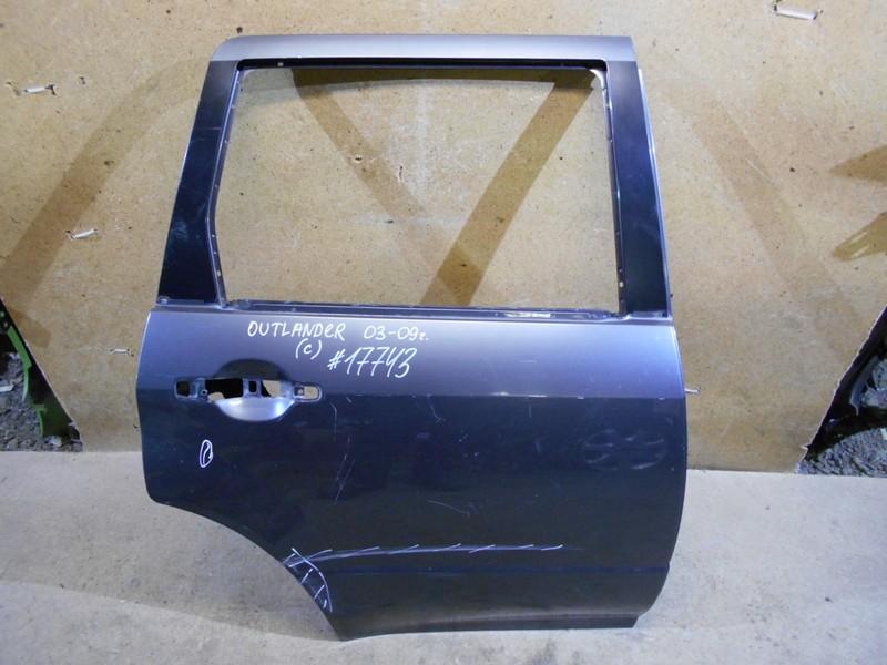 Дверь задняя правая Mitsubishi Outlander (2002-2008)