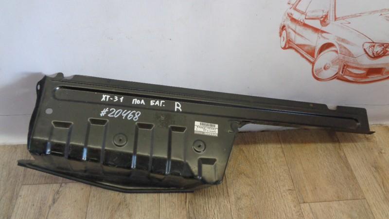 Кузов - панель пола багажника Nissan X-Trail (2007-2015) правый