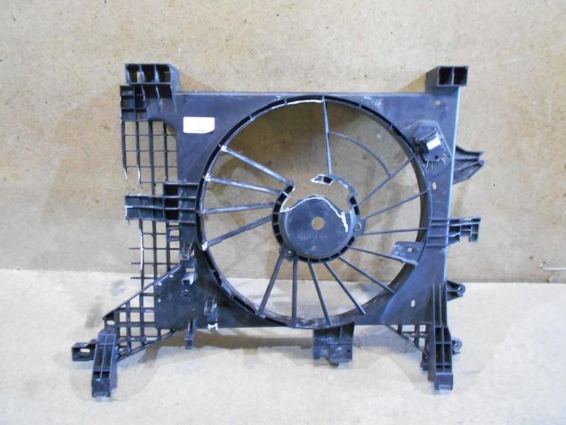 Диффузор радиатора охлаждения - рамка вентиляторов Renault Duster (2010-Н.в.)