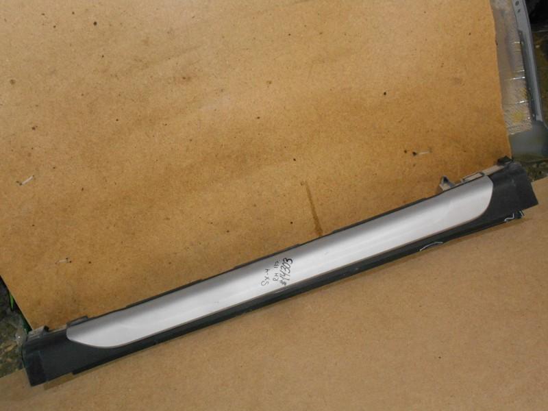 Накладка порога кузова - наружная облицовка Suzuki Sx-4 (2013-Н.в.) правая