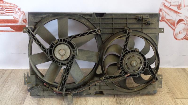 Диффузор радиатора охлаждения - в сборе Volkswagen Golf (Mk4) 1997-2006 1998