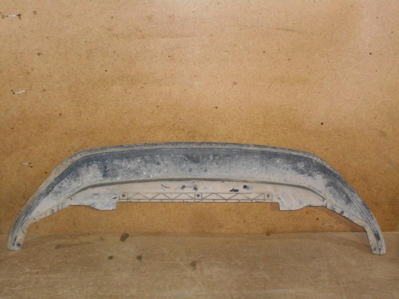 Спойлер (юбка) бампера переднего Volkswagen Golf (Mk7) 2012-2019