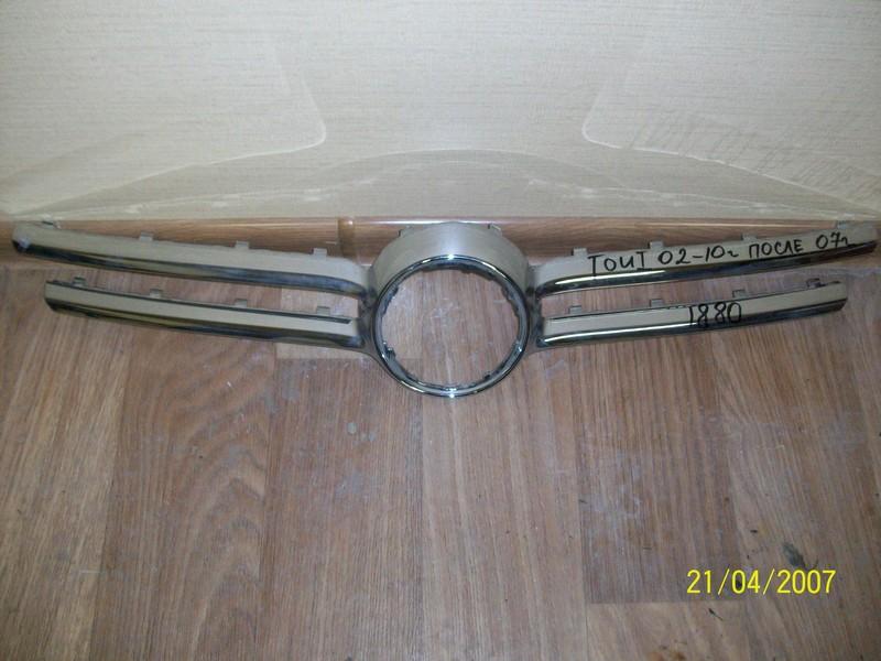 Решетка радиатора - молдинг Volkswagen Touareg (2002-2010) 2002