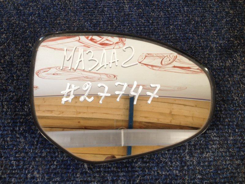 Зеркало правое - зеркальный элемент Mazda Mazda 2 (2007-2015)