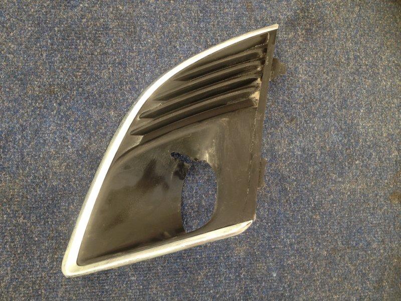 Накладка противотуманной фары / ходового огня Chevrolet Cruze 2012 левая