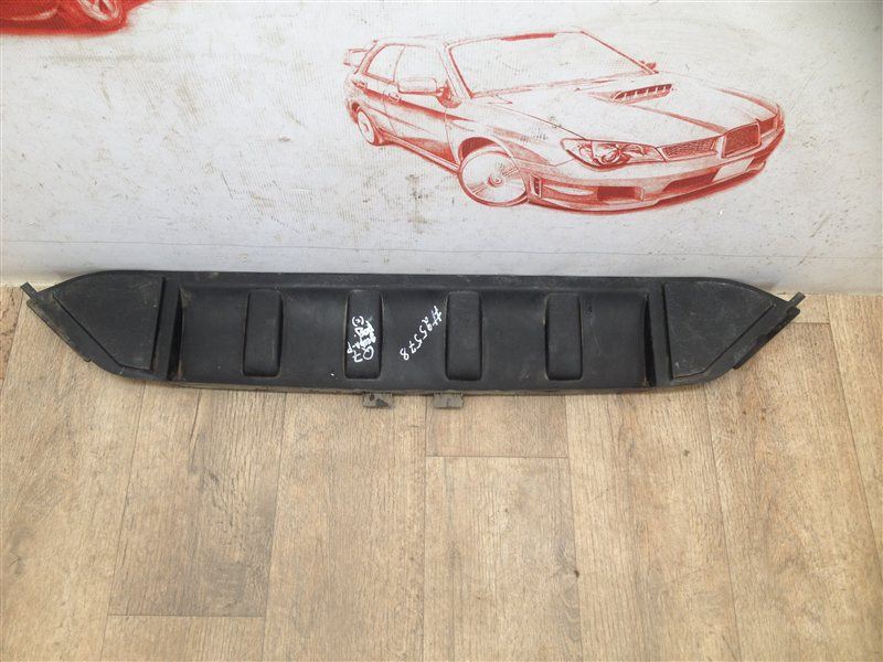 Дефлектор воздушного потока основного радиатора Audi Q7 (2005-2015) нижний