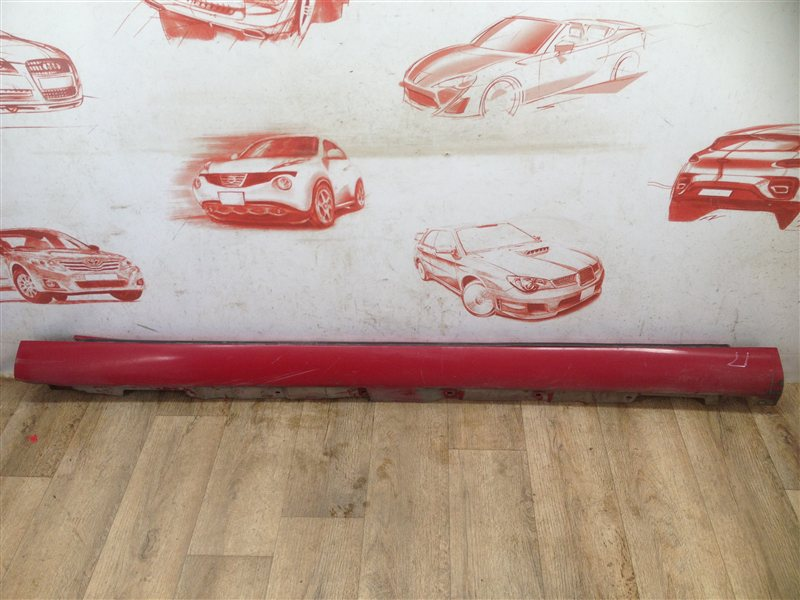 Накладка порога кузова - наружная облицовка Toyota Avensis (T25_) 2003-2009 1ZZ-FE (1800CC) 2006
