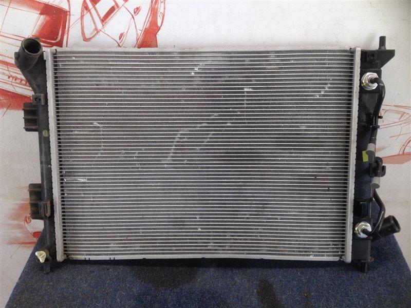 Радиатор охлаждения двигателя Kia Soul (2008-2014)