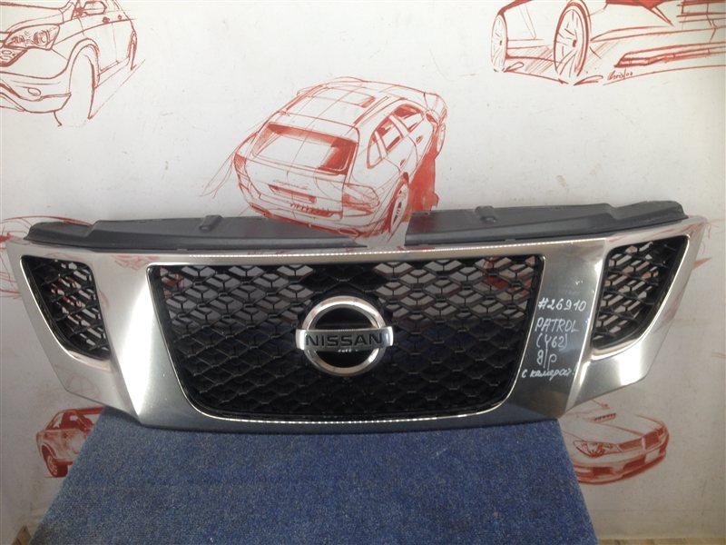 Решетка радиатора Nissan Patrol (2010-2017) 2010