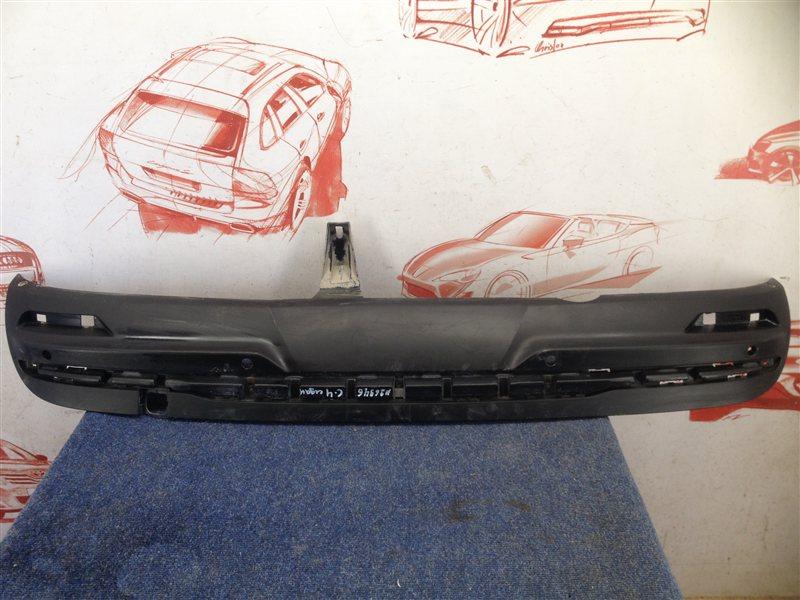 Спойлер (накладка) бампера заднего Citroen C4 2010-Н.в.
