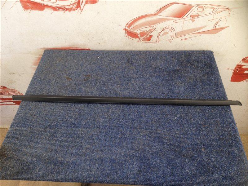 Молдинг-уплотнитель стекла двери (бархотка) Chevrolet Lanos передний правый