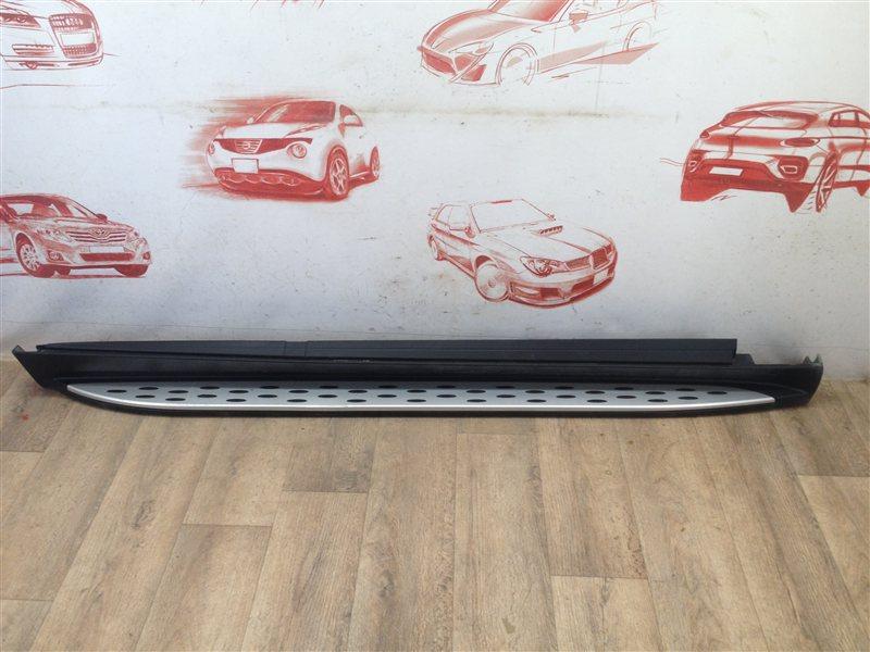 Подножка кузова Mercedes Gle-Klasse (W166) 2015-2018 правая