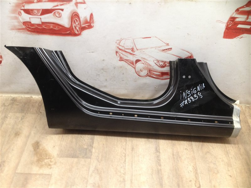 Кузов - порог (обрезок) Opel Insignia (2008-2015) задний правый