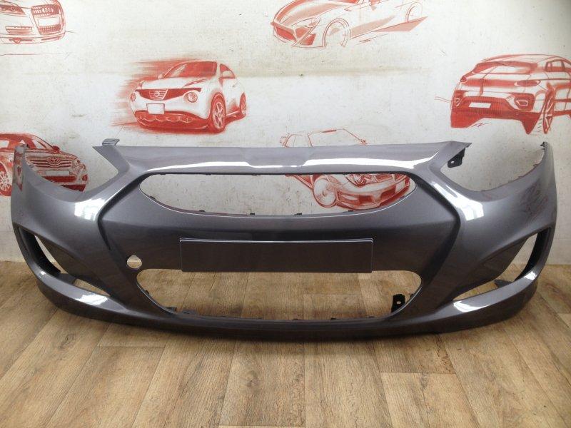 Бампер передний (окрашенный) Hyundai Solaris (2010-2017) 2010