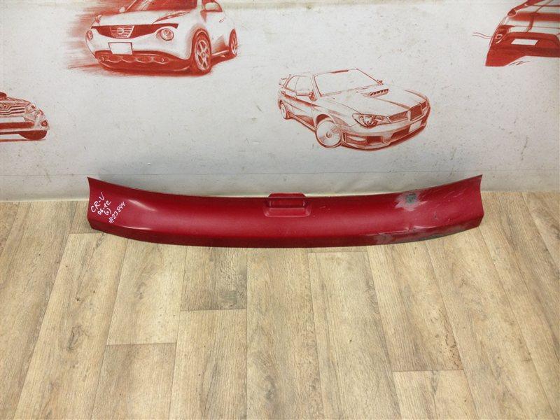 Накладка / молдинг двери багажника Honda Cr-V 3 (2007-2012)