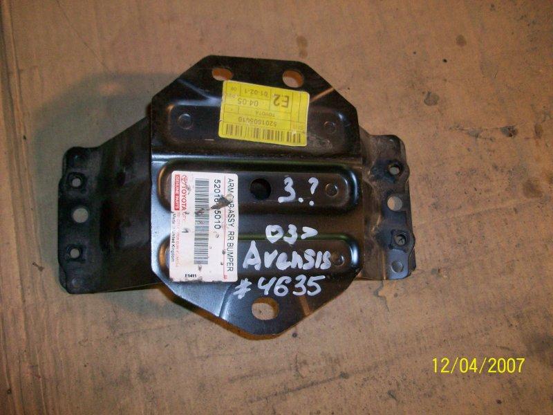 Усилитель бампера - опорный кронштейн Toyota Avensis (T25_) 2003-2009 2003 задний левый