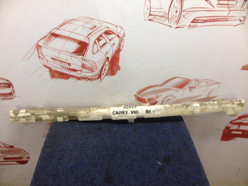 Абсорбер (наполнитель) облицовки порога Toyota Camry (Xv40) 2006-2011 2006 правый