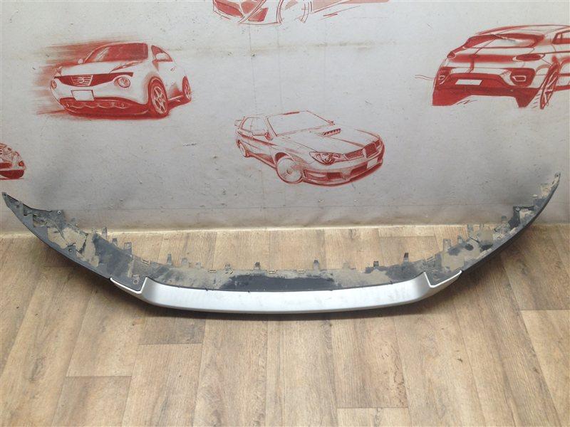 Спойлер (юбка) бампера переднего Ford Ecosport 2014-Н.в.