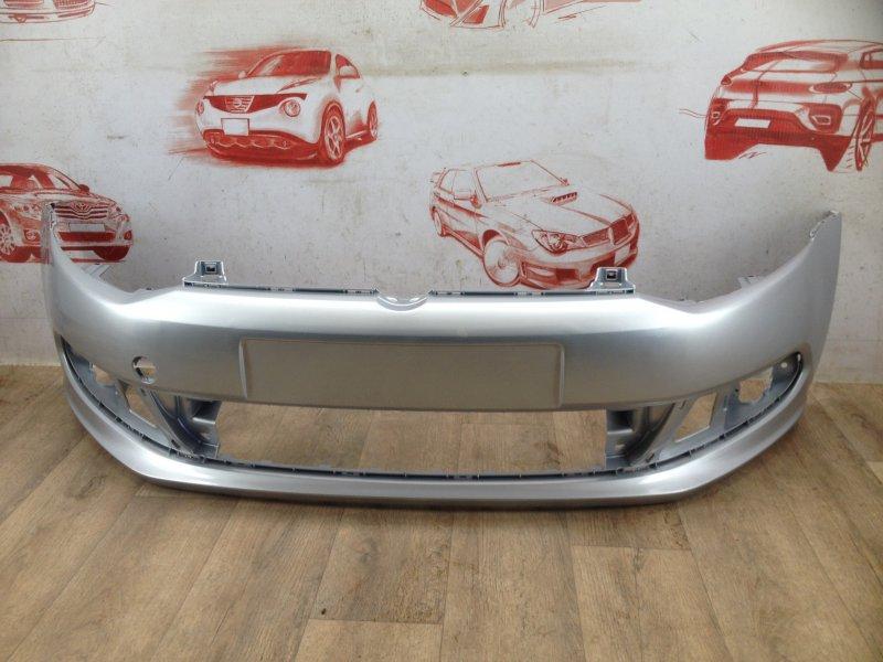 Бампер передний (окрашенный) Volkswagen Polo (Mk5) Седан 2010-2020 2010