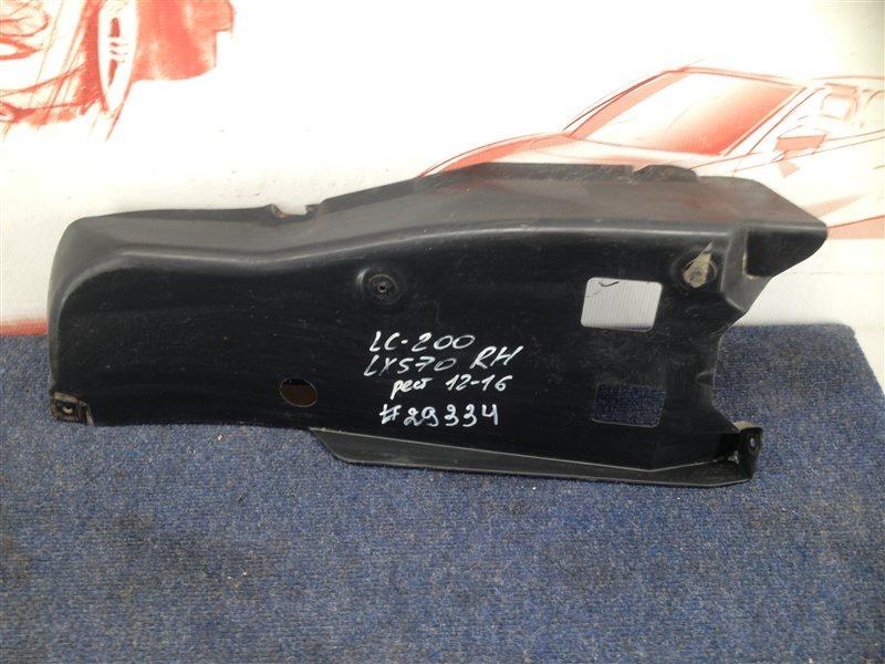 Пыльник бампера заднего Toyota Land Cruiser 200 (2007-Н.в.) 2011 правый