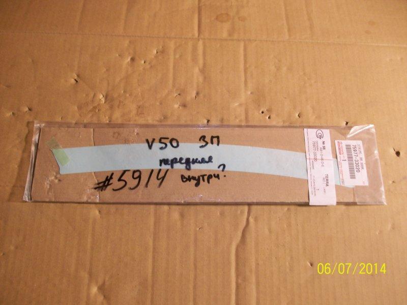 Аппликация (наклейка) рамки двери Toyota Camry (Xv50) 2011-2017 передняя правая