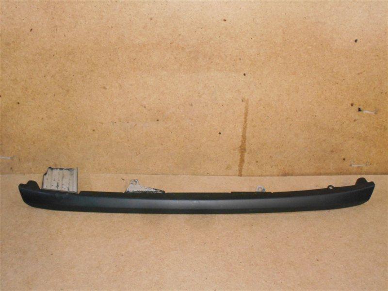 Спойлер (накладка) бампера заднего Toyota Highlander (Xu50) 2013-Н.в.