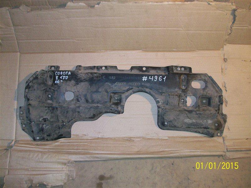 Защита моторного отсека - пыльник двс Toyota Corolla (E15_) 2006-2013