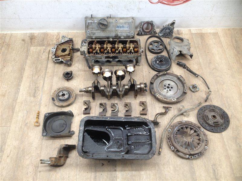 Двигатель (по запчастям) Kia Picanto (2004-2011) 2008