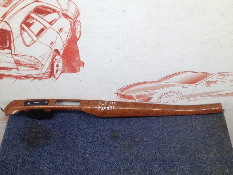 Торпедо - передняя панель салона, накладка Toyota Avensis (T25_) 2003-2009 1ZZ-FE (1800CC) 2006