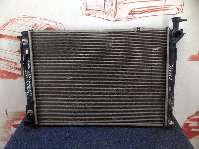 Радиатор охлаждения двигателя Hyundai Santa-Fe (2006-2012) 2400CC (2.4L) G4KE