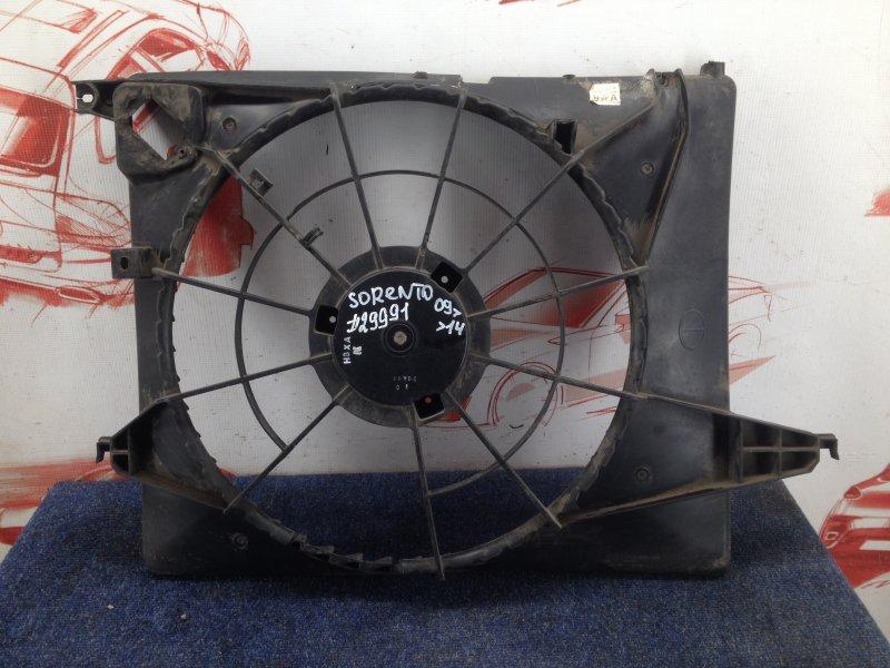 Диффузор радиатора охлаждения - рамка вентиляторов Kia Sorento (2009-Н.в.)