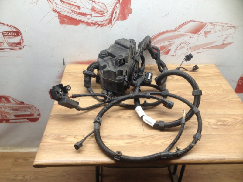 Электрика - проводка моторного отсека Porsche Cayenne (2010-2018)