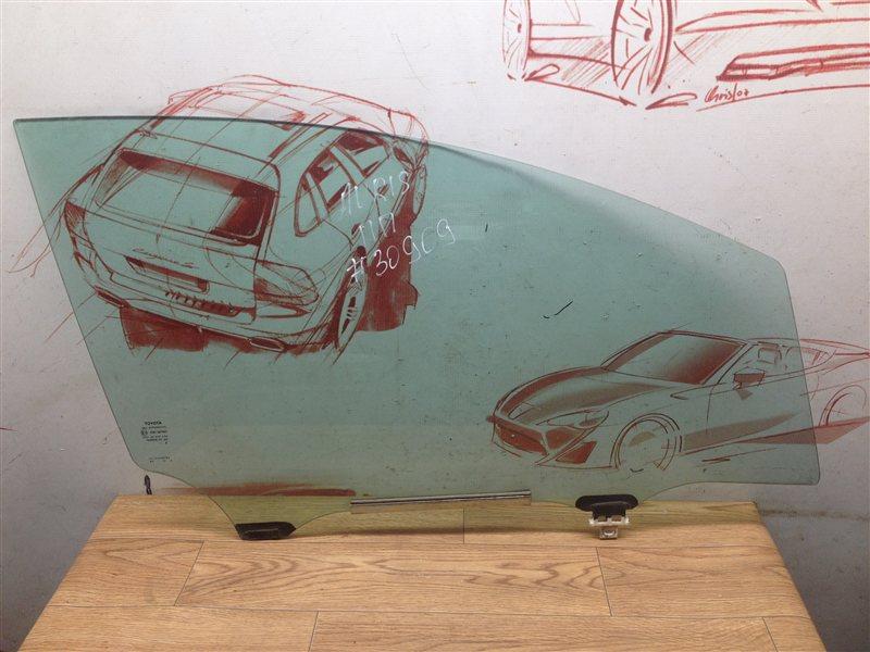 Стекло двери передней правой Toyota Auris (E15_) 2006-2012
